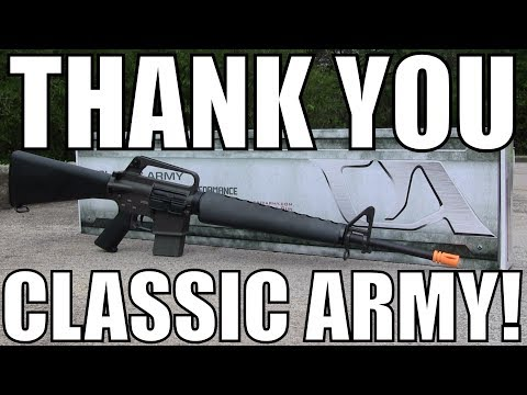 Bruh. Thank You Classic Army - Quick Airsoft Unboxing