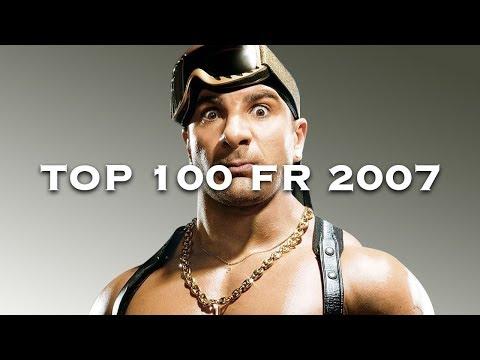 Les 100 plus grands tubes de 2007 en France