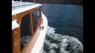 Halvorsen Cruiser on Hawkesbury River (Sydney - Wooden Boats)