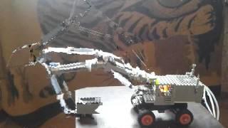 Экскаватор из Лего и шприцов (часть 2)
