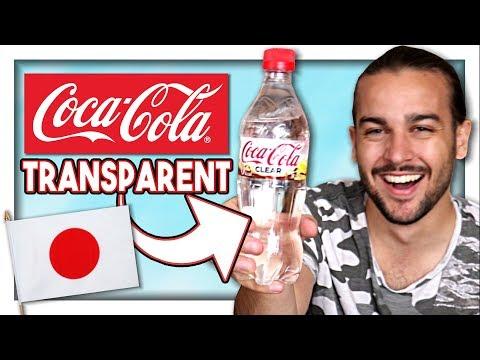 ON TESTE LE COCA COLA TRANSPARENT JAPONAIS !