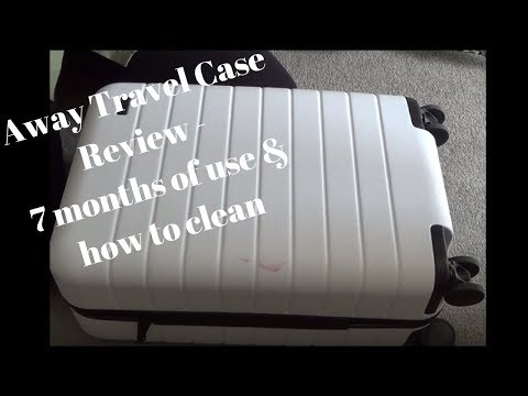 Away Travel 7 Months on... review & clean
