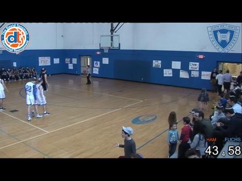 Championship Game : Fuchs Mizrachi School vs Montreal Hebrew Academy