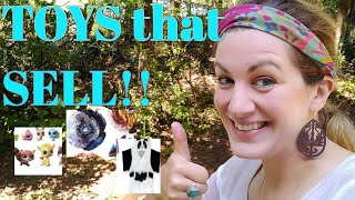Top 14 TOYS that SELL at Children's Consignment Sales & how to create the Tags!