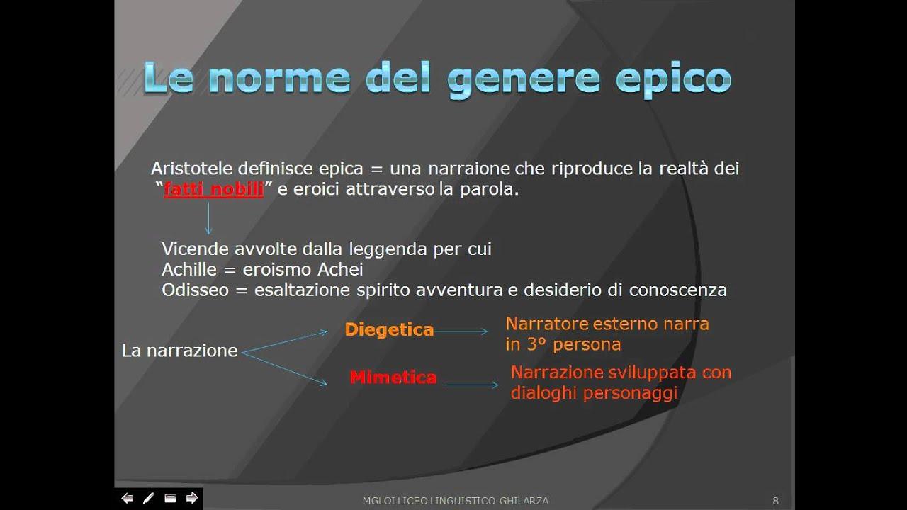 Mito ed epica - Portale per Studenti: Materiali, Appunti e ...