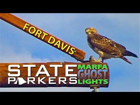 Fort Davis and the Marfa Ghost Lights