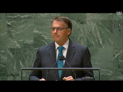 """Confira discurso """"COMPLETO"""" do PR. J.M. Bolsonaro na Assembleia Geral da ONU"""