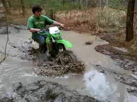 dirt bike muddin