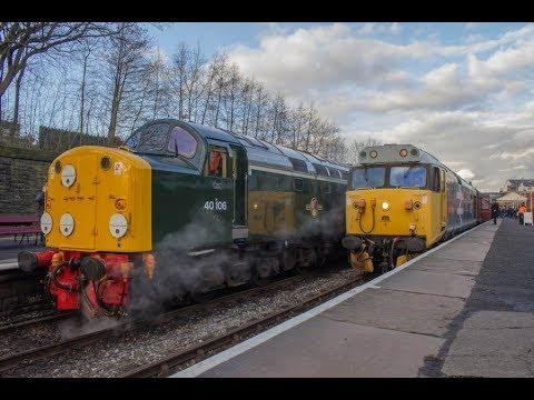 East Lancashire Railway Spring Diesel Gala 17-02-2018