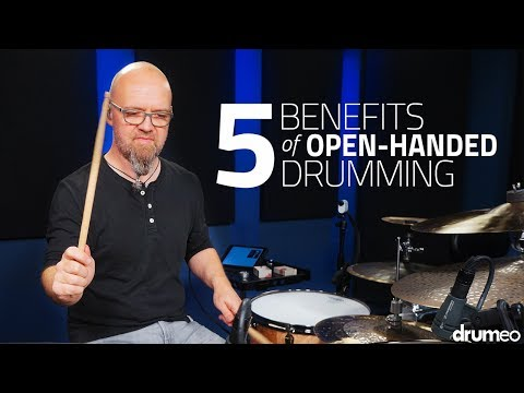 5 Benefits Of Open Handed Drumming - Drum Lesson (Drumeo)