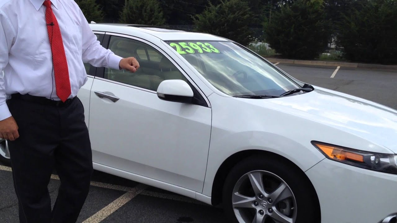 2013 acura tsx w tech pkg only 9609 miles presented by brad