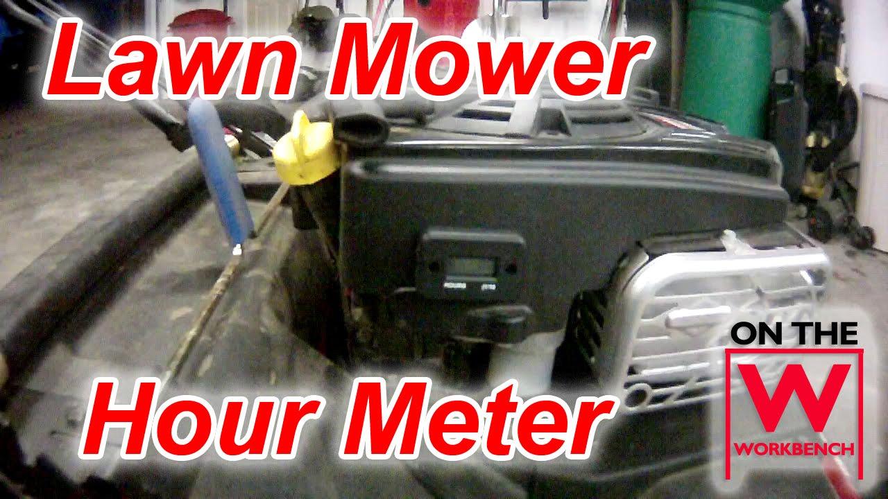 Toro Timemaster Mower Hour Meter Instalation