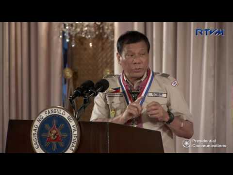 Baden Powell Day of the WOSM and Investiture Ceremony of the BSP (Speech) 4/3/2017