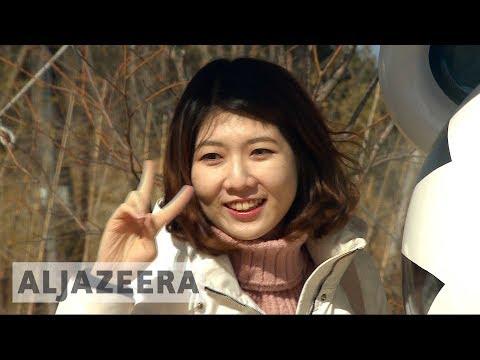 ?? Pyeongchang 2018 volunteers braving sub-zero weather