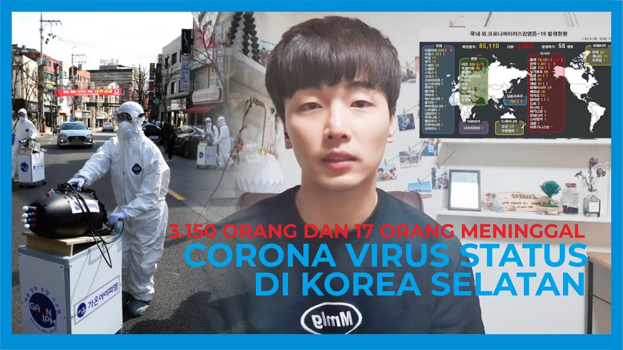 [Situasi Corona di Korea Selatan] Status Merah dan Menyebar dengan Cepat!!