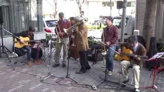 The 14th Shinjuku Trad Jazz Festival(二日目) 松本耕司(Tb)・長谷川光(G)・遠藤昭浩(G)・渡部拓実(B) 2/2