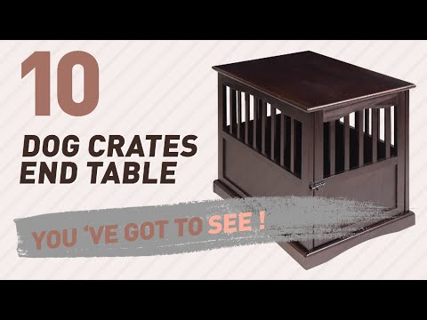 Dog Crates End Table // Top 10 Most Popular