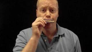 How to play famous blues boogie riff. Harmonica lessons