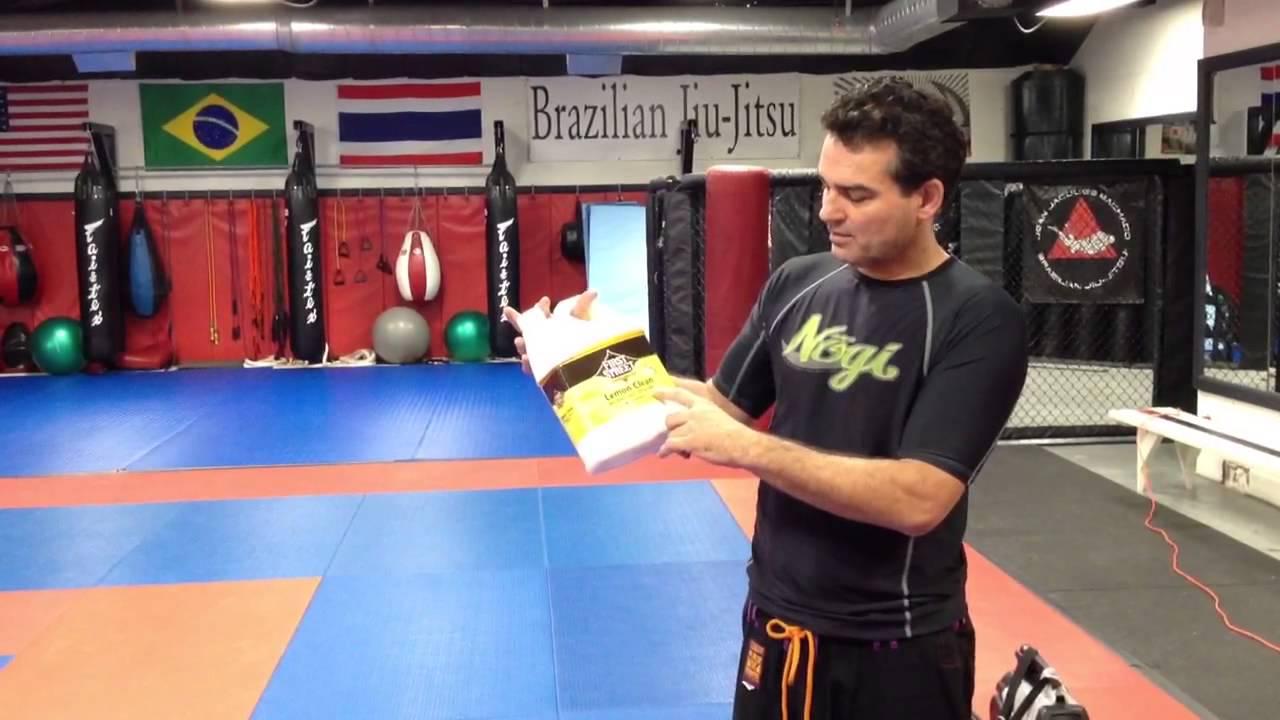 Dion Watts On Cleaning Jiu Jitsu Mats
