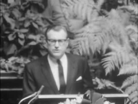 Governor Rockefeller at Inauguration, second term, 1963