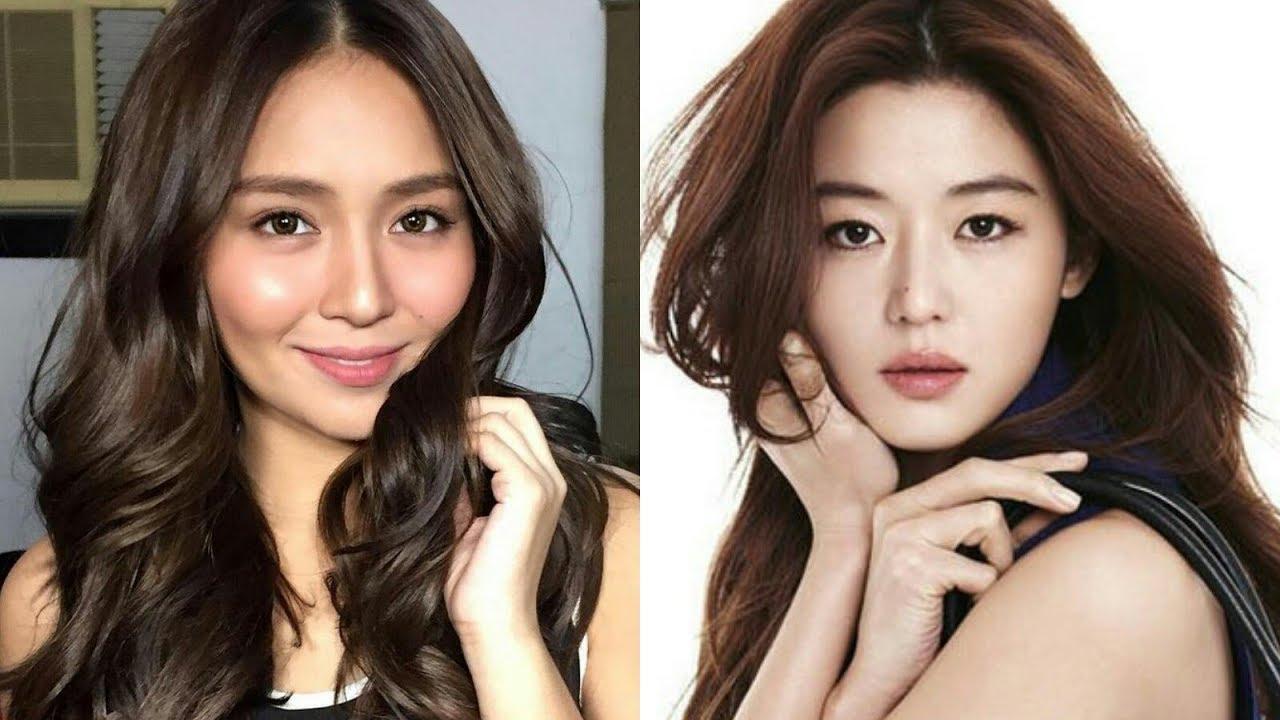 filipina actresses vs korean actresses 2017