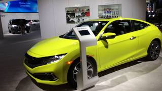 Honda display walkthrough at the 2019 Detroit auto show