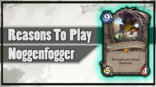 Hearthstone: Reasons To Play Mayor Noggenfogger