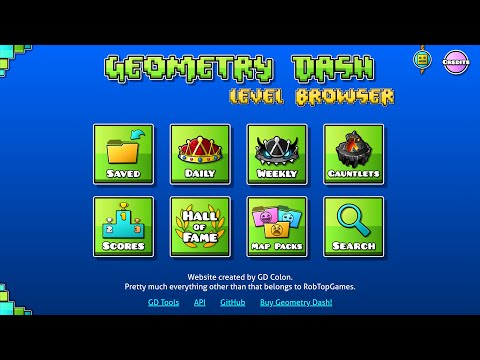 How I Made A Geometry Dash Website