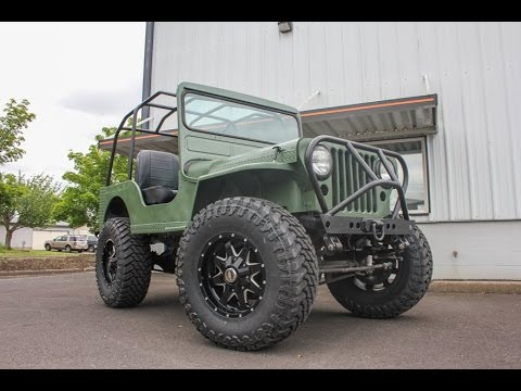 1946 Jeep Willys 4x4 V8 Power Plant Ready To Do Some