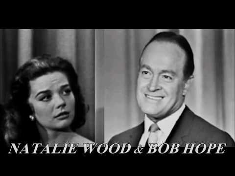BOB HOPE & NATALIE WOOD 1957