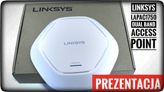 LINKSYS LAPAC1750 Dual Band Access Point 16xSSID RECENZJA