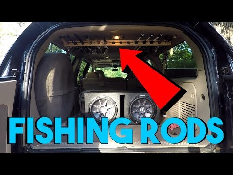 EASY Vehicle Fishing Rod Rack DIY! SUV/Truck