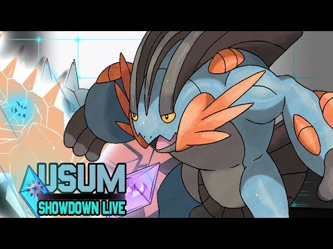 Pokemon Showdown Live Ultra Sun and Moon #45 [Uber] - I
