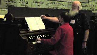SAINT-SAENS:  Meditation, played on Karn reed organ