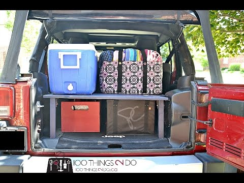 Diy Trunk Organizer Youtube