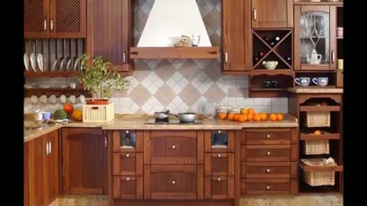 Muebles De Cocina Madera - Mymoan.top