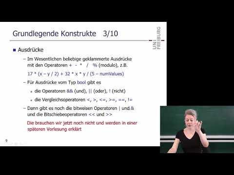 Programmieren in C++, SS 2018, Vorlesung 3
