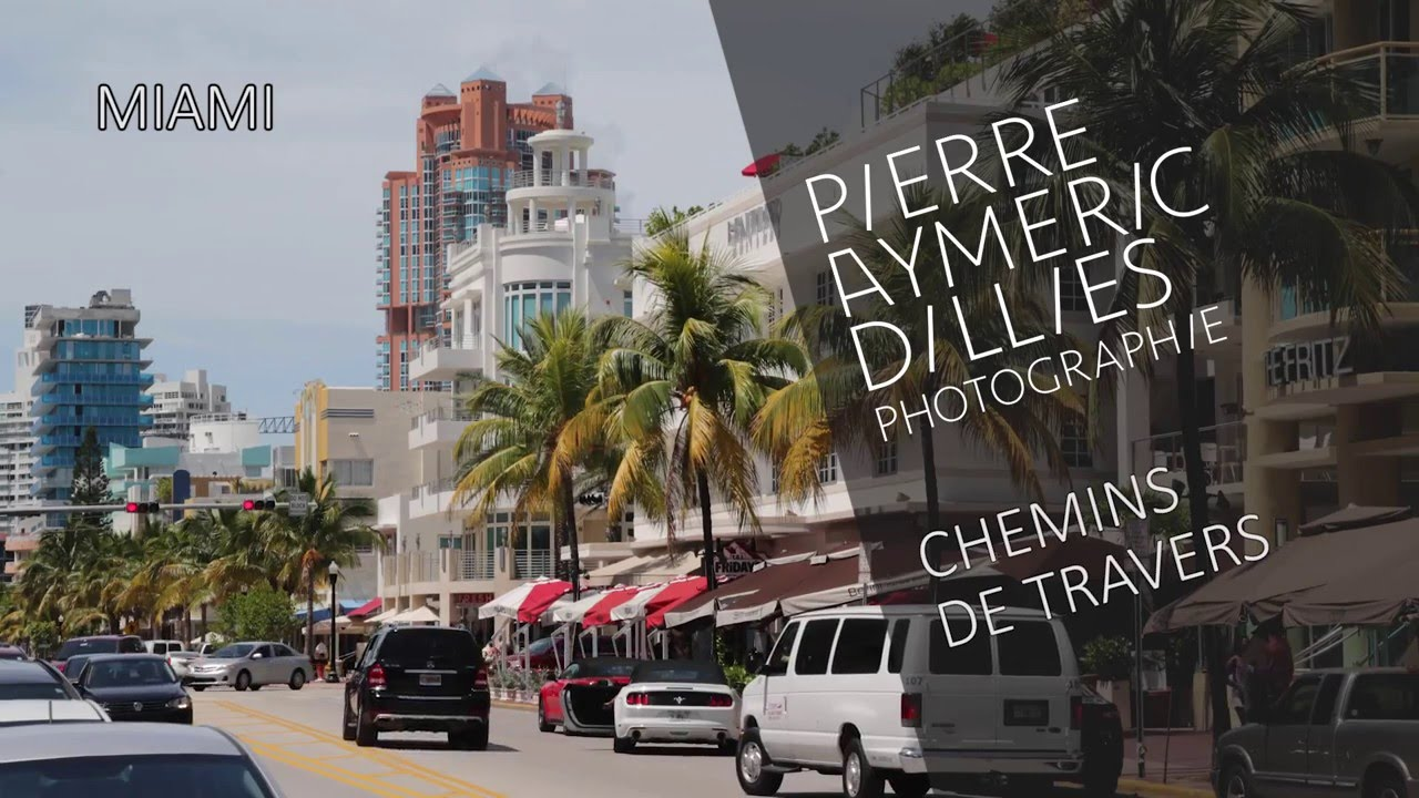 shooting photo Pierre-Aymeric Dillies à Miami