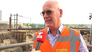 Helperzoomtunnel zaterdag ingeschoven: 'Gaan ervan uit dat het nu wel goedkomt'