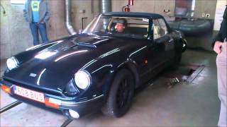 TVR S series on dyno