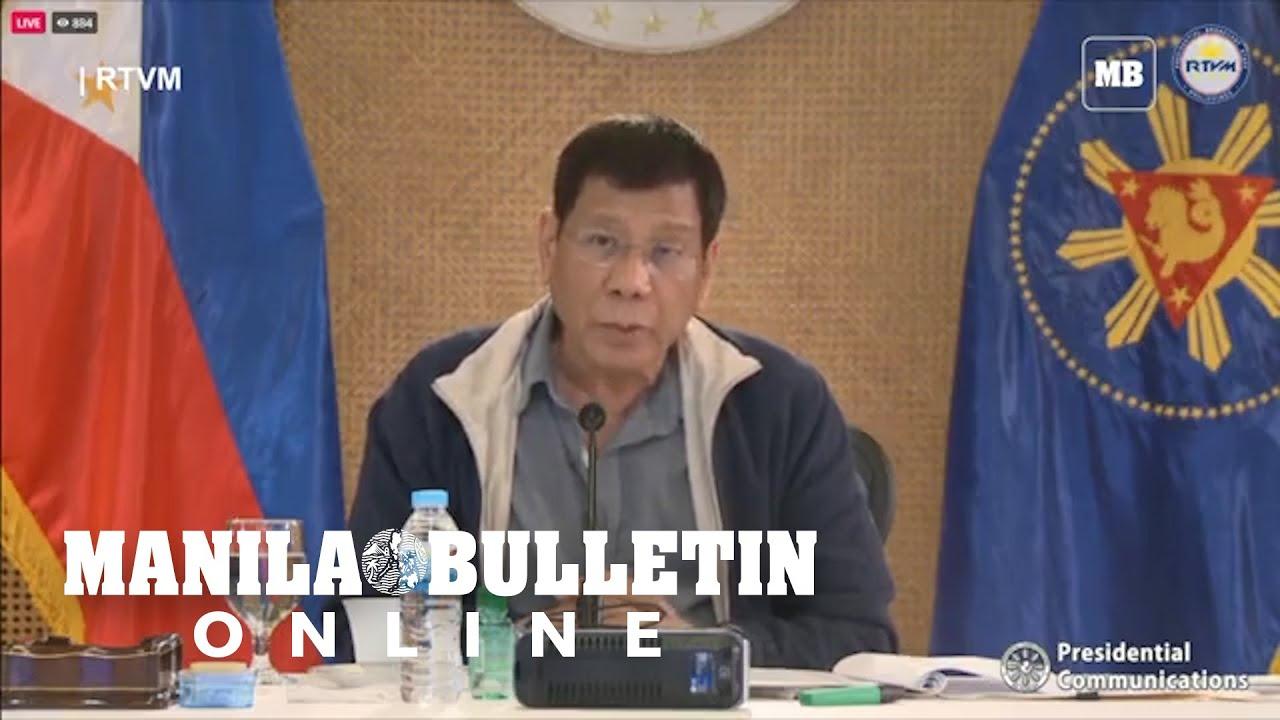 Download FULL VIDEO: President Duterte addresses the nation   Oct. 19, 2021