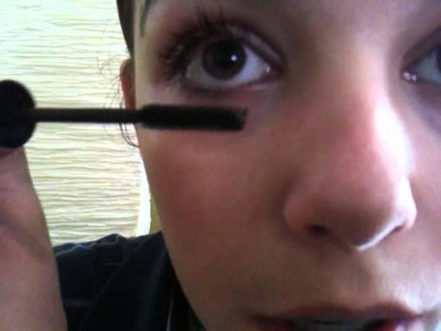 Mascara richtig auftragen / Wimpern tuschen