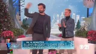 Sebastian Stan on Ellen full interview