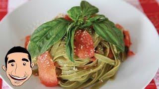 Tomato And Basil Pasta Recipe | Vegetarian Pasta Recipe