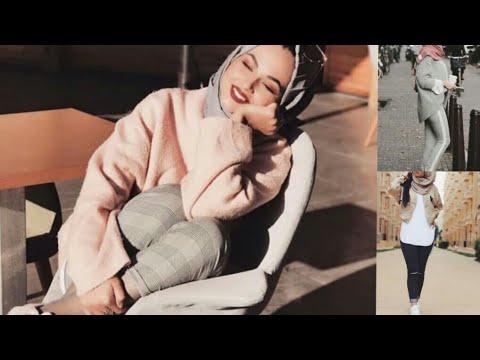 [VIDEO] - مميز...ملابس محجبات شتاء 2019  اكثر من 40 موديل الجزء الاول hijab winter fashion 4