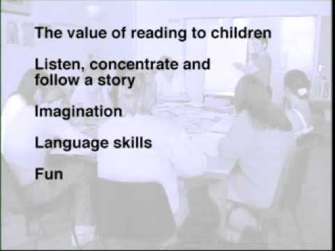 Read Write Now 1 Programme 10 Learning Point 3 Reading to a child