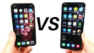iPhone 11 Pro vs Galaxy S20 Speed Test!