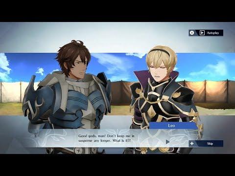 Fire Emblem Warriors  Frederick & Leo Support Conversation
