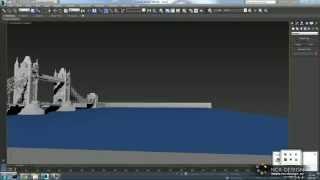 Tower Bridge London 3D model AutoCAD + 3dsMax
