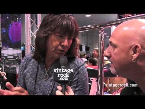 2015 NAMM Show: Bryan Hitt (REO Speedwagon) Interview